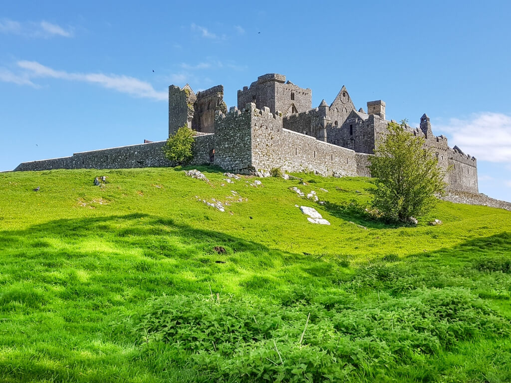 The Rock of Cashel historic site in Ireland