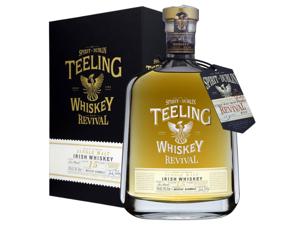 A picture of Teeling Irish Whiskey