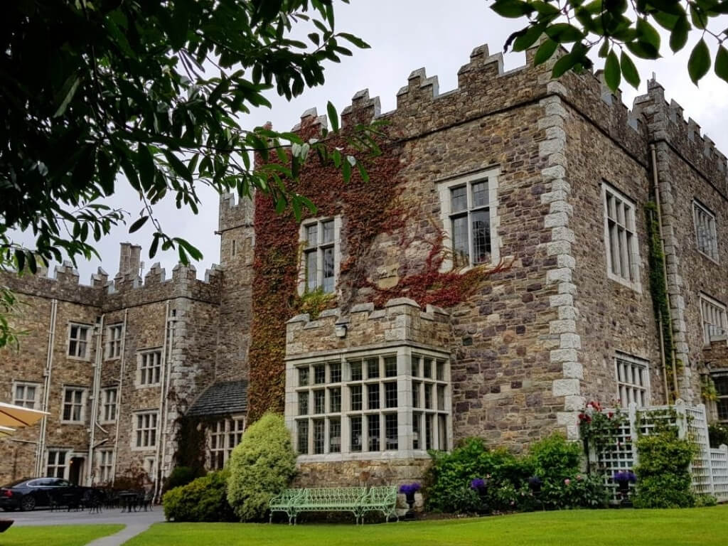 A picture of the exterior of Waterford, one of the best luxury castle hotels in Ireland