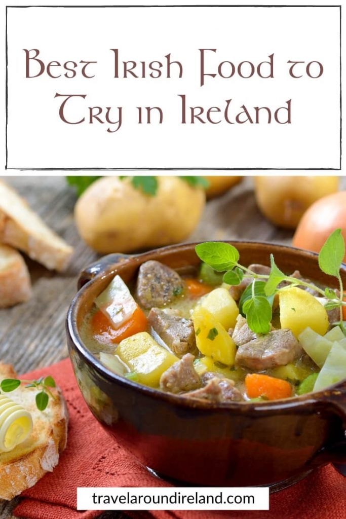 The best Irish food to try in Ireland includes an Irish stew