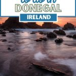 best things to do in donegal pin featuring a swirly, rocky coastline picture