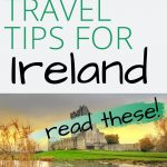A picture of Ross Castle in County Kerry with a text box overlay saying 45 Easy Travel Tips for Ireland