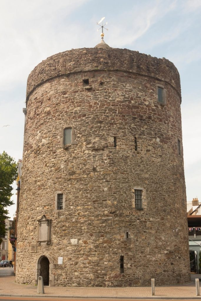 A picture of Reginald's Tower in Waterford City
