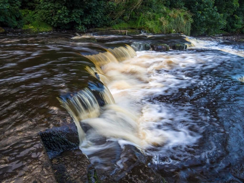 A picture of the Ennistymon Cascades in County Clare, Ireland