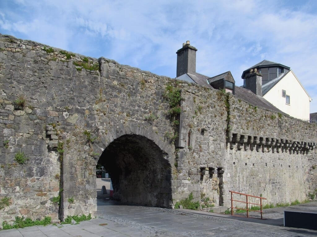 A picture of the Spanish Arch in Galway