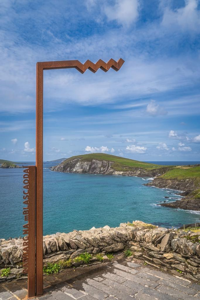 A picture of the Blasket Islands View Discovery Point on the Wild Atlantic Way in Ireland