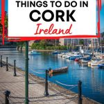 A picture of Kinsale Harbour with a text box containing the words Best Things to Do in Cork Ireland