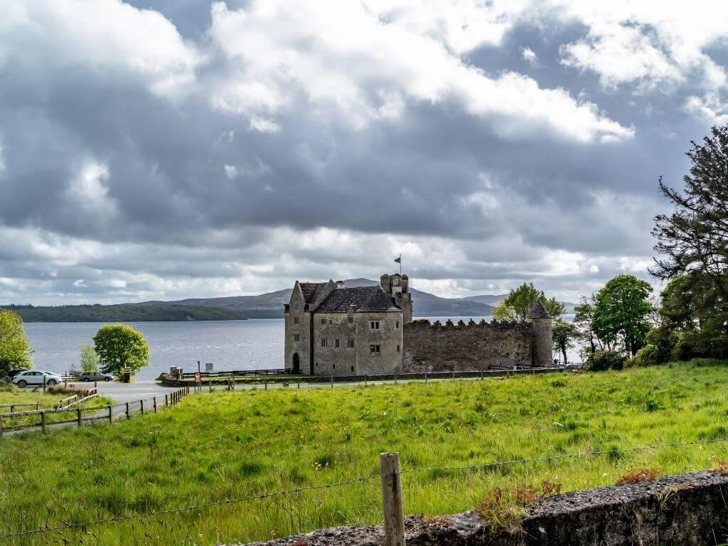 A picture of Parke's Castle, Leitrim