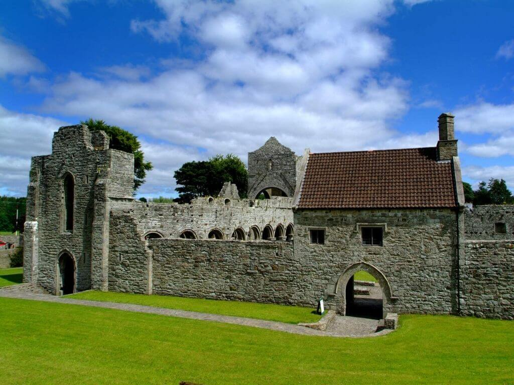 A picture of Boyle Abbey, one of the best things to do in Roscommon, Ireland