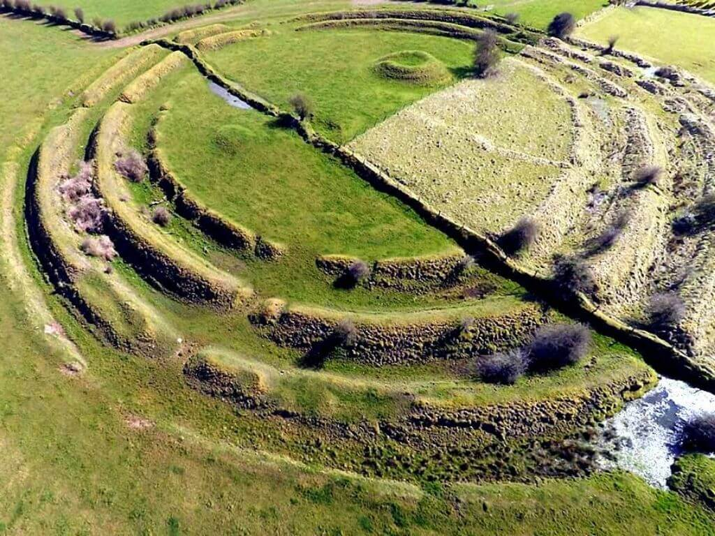 A picture of one of the historical mounds at Rathcroghan, Roscommon