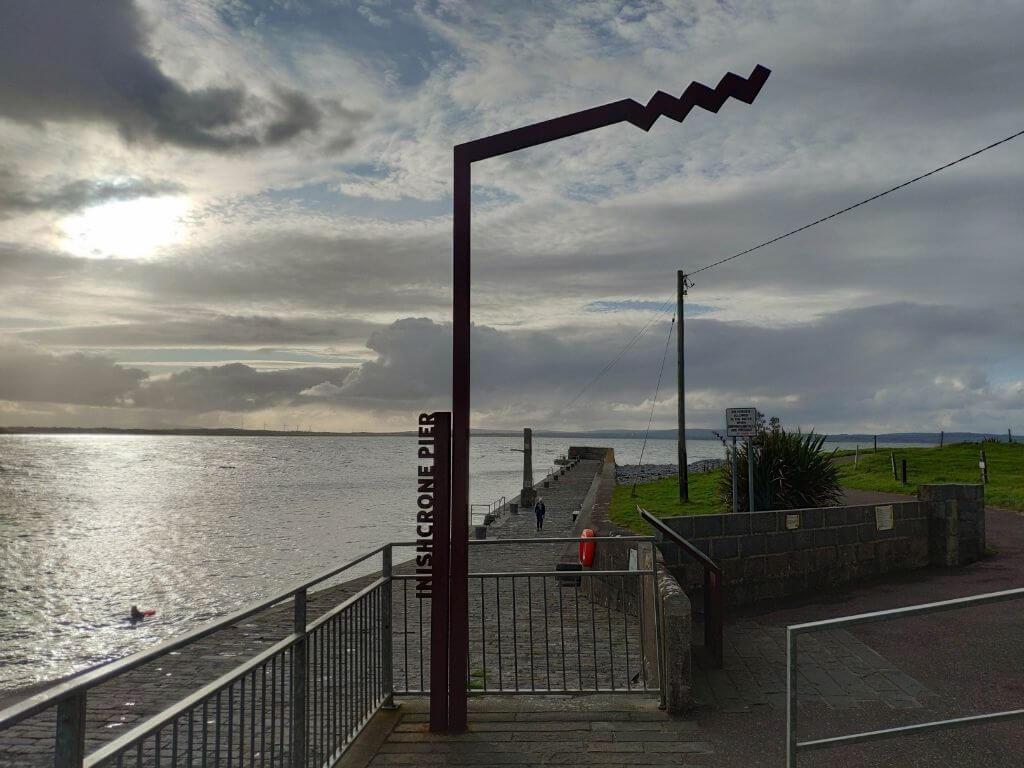 A picture of the Wild Atlantic Waypoint at Inishcrone/Enniscrone, Sligo