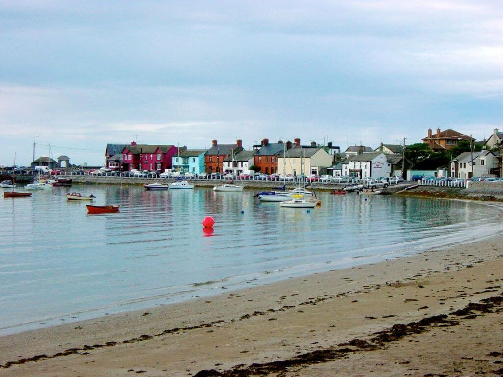 A picture of the harbour at Skerries, Dublin